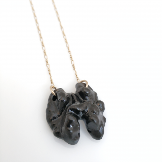 Black walnut necklace
