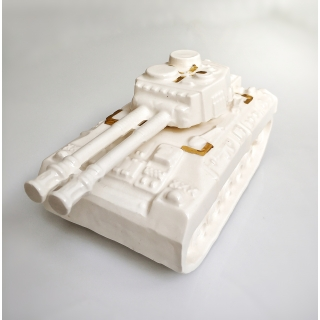 eden hevorni Ceramic Tank with Gold Target