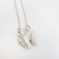 White walnut necklace